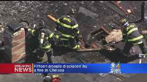 15 People Displaced After A Fire In Chelsea