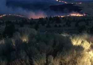 Oregon's Boxcar Fire Grows to 10,000 Acres in Two Days
