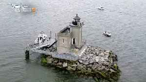 Web Extra: A Fly-Around Drone View Of The Huntington Lighthouse [Video]