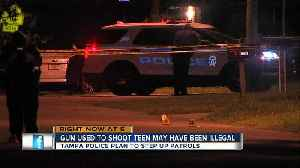 Teen shot while heading home from friends house in East Tampa