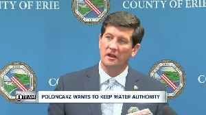 Poloncarz wants to add positions, cut pay for Water Authority leaders