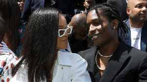 Rihanna Gets Cozy With EX Fling A$AP Rocky!