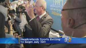 Sports Betting At The Meadowlands Begins July 15