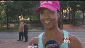 Medway Native Starts Fun From Boston To NY For Breast Cancer Research [Video]