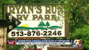 Grandmother, granddaughter killed at campground