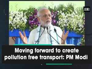 Moving forward to create pollution free transport: PM Modi [Video]
