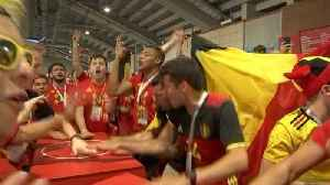 """One team, one country,"" Belgians revel in unifying victory"