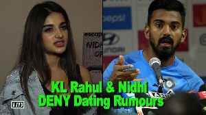 Cricketer KL Rahul & Nidhi Agerwal DENY Dating Rumours [Video]