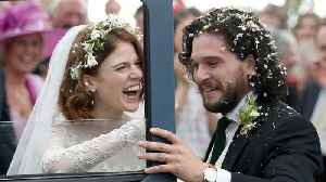 Kit Harington And Rose Leslie Wed