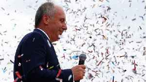 Turkey's Snap Election Sees Opposition Candidate Muharrem Gaining Support