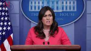 Sarah Sanders Responds After Being Kicked Out of Virginia Restaurant by Owner