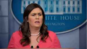 White House Press Secretary Says She Was Asked To Leave Restaurant Over Working For Trump