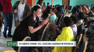 Teaching trip to Rwanda provides many lessons for Buffalo State students [Video]