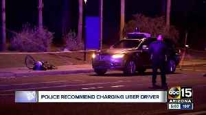 New report shows police recommend charging backup driver in deadly self-driving Uber crash [Video]