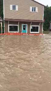 Flooding in Augusta Montana