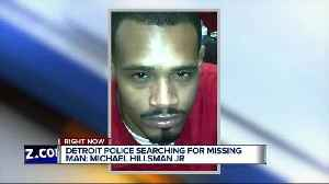 Detroit Police search for missing man suffering from anxiety, takes medication