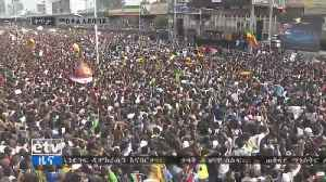 Explosion hits rally for Ethiopian president, over 150 injured