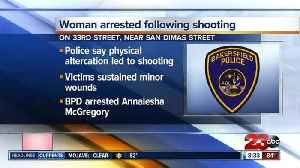 BPD arrest woman following shooting
