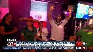 News video: Local restaurants open for Mexico World Cup game