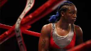 Claressa Shields Picks Herself Off The Deck To Win 10-Round Decision