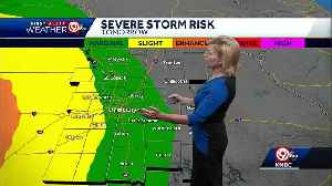 First Alert: Warm Saturday, severe weather possible Sunday night