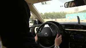 Saudi Arabian women take to the wheel