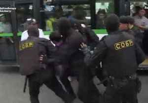Dozens Arrested During Anti-Government Protests in Kazakhstan