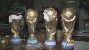 Drugs Smuggled In World Cup Trophy Souveneirs