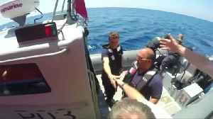 Malta Armed Forces send aid to migrant rescue ship