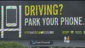 UMass Students Win Billboard Contest Urging Drivers To 'Park Your Phone'