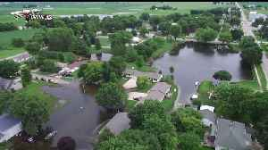Parts of Iowa Town Still Flooded Over a Week After Storm Began