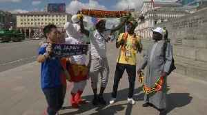 Japan and Senegal fans look forward to match