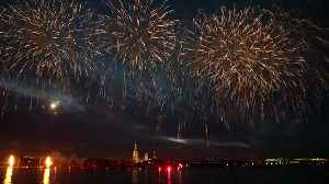Fireworks & scarlet sails mark culmination of St Petersburg's White Nights festivities