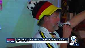 News video: World Cup watch party at German American Club of the Palm Beaches