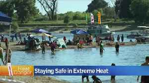 News video: Heat Wave Brings Triple Digit Temps To Northern California