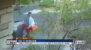 Burglar may have used address on vehicle registration, garage door remote to break into a home
