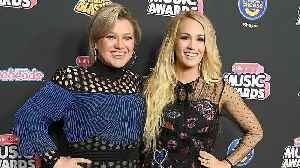 Kelly Clarkson Shuts Down Feud Rumors With Carrie Underwood (Exclusive) [Video]