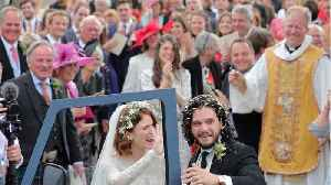 Trending: Kit Harington and Rose Leslie get hitched, Ed Sheeran takes two toilet breaks during concert, and Taylor Swift brings