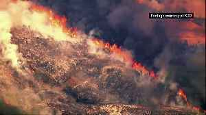 Hundreds of firefighters tackle Pawnee Fire in California