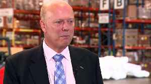 Grayling: Bigger Heathrow vital for 'post-Brexit prosperity'
