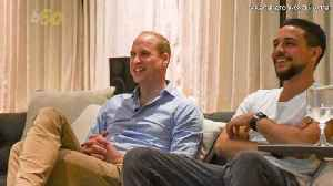 Just Two Princes Hanging Out in an Epic 'Royal Man Cave'