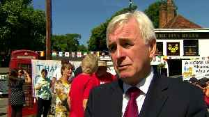 McDonnell strongly opposes Heathrow expansion