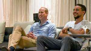 Prince William And Crown Prince Of Jordan Watch World Cup Together