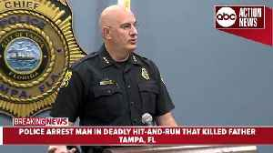 Police: Man 'purposely' hit family on bike path | Tampa Police News Conference