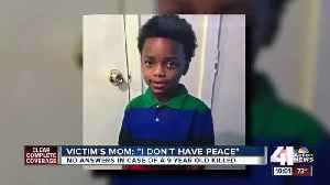 Five months later, no arrests in 9-year-old's shooting death