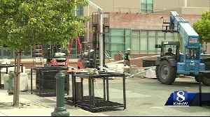 Preparations are underway in Salinas for the Forbes Ag Tech Summit
