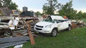 Single Mom, Two Children Left Without Home, Car After Tornado