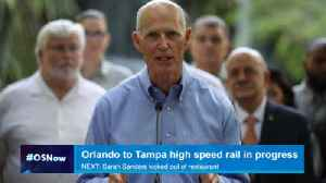 Gov. Scott: Privately built Orlando to Tampa high speed rail in works