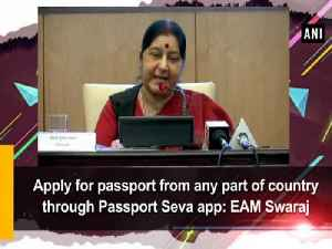 Apply for passport from any part of country through Passport Seva app: EAM Swaraj [Video]