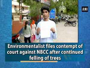 Environmentalist files contempt of court against NBCC after continued felling of trees [Video]